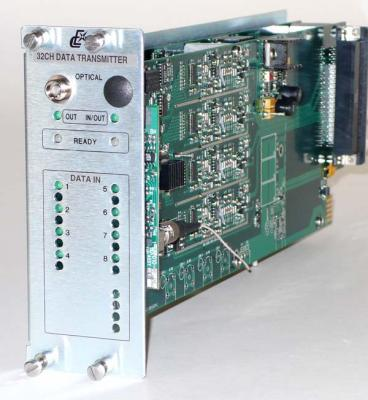 Multi-channel Data Optical Transmitter Card